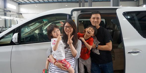 2015-07-09 上海店 埃尔法 钣金喷漆