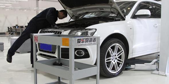 2015-05-15 北京店 奥迪Q5 修理烧机油