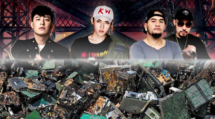 中国有嘻哈,让我想起了在德国捡汽车垃圾的日子